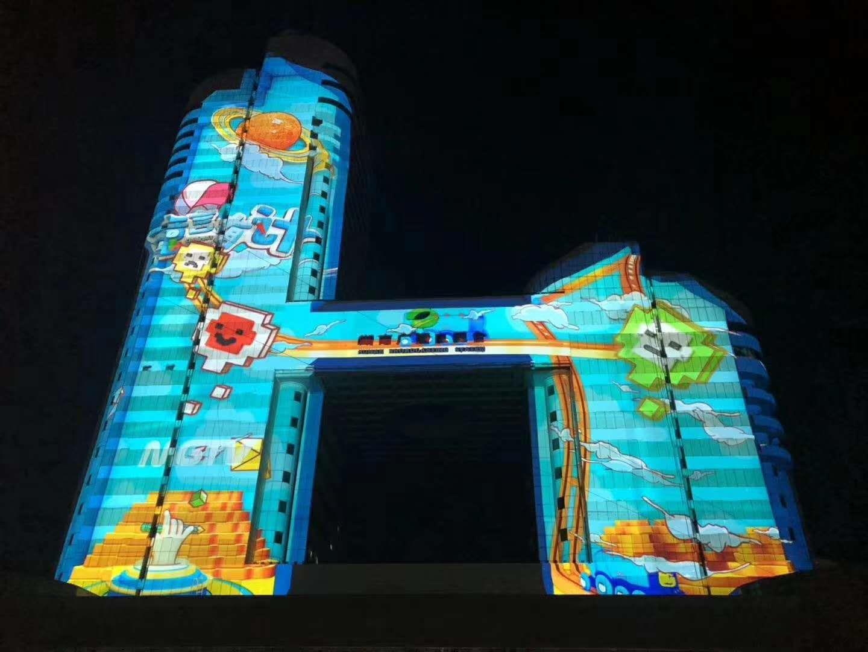 苏州外墙投影设计