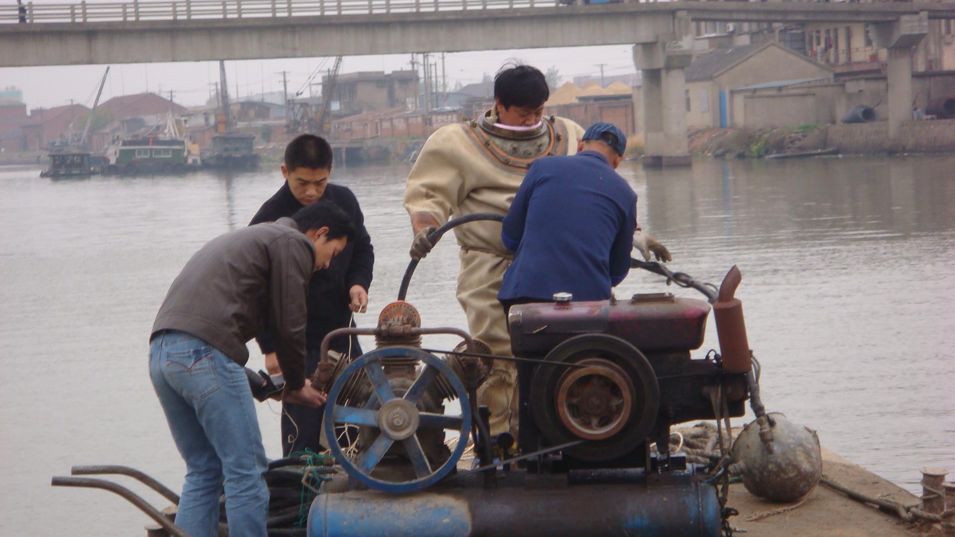 滁州潜水打捞费用