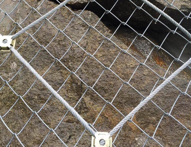青海柔性边坡防护网
