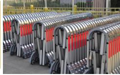保税区专业承接不锈钢伸缩门生产商