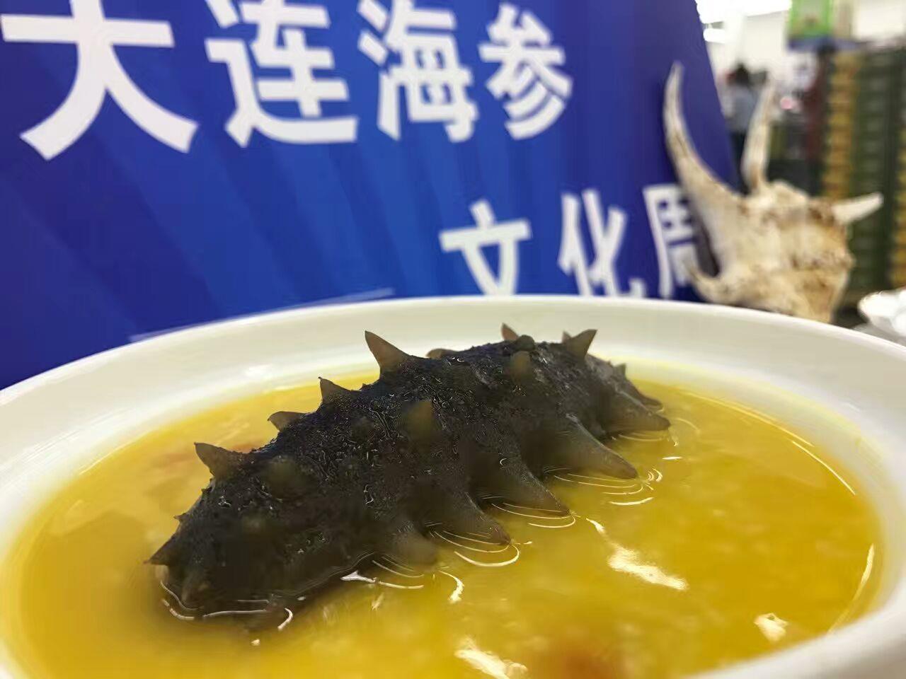 现金网GD平台娱乐煮半干海参的水为什么是蓝颜色 营养价值更高