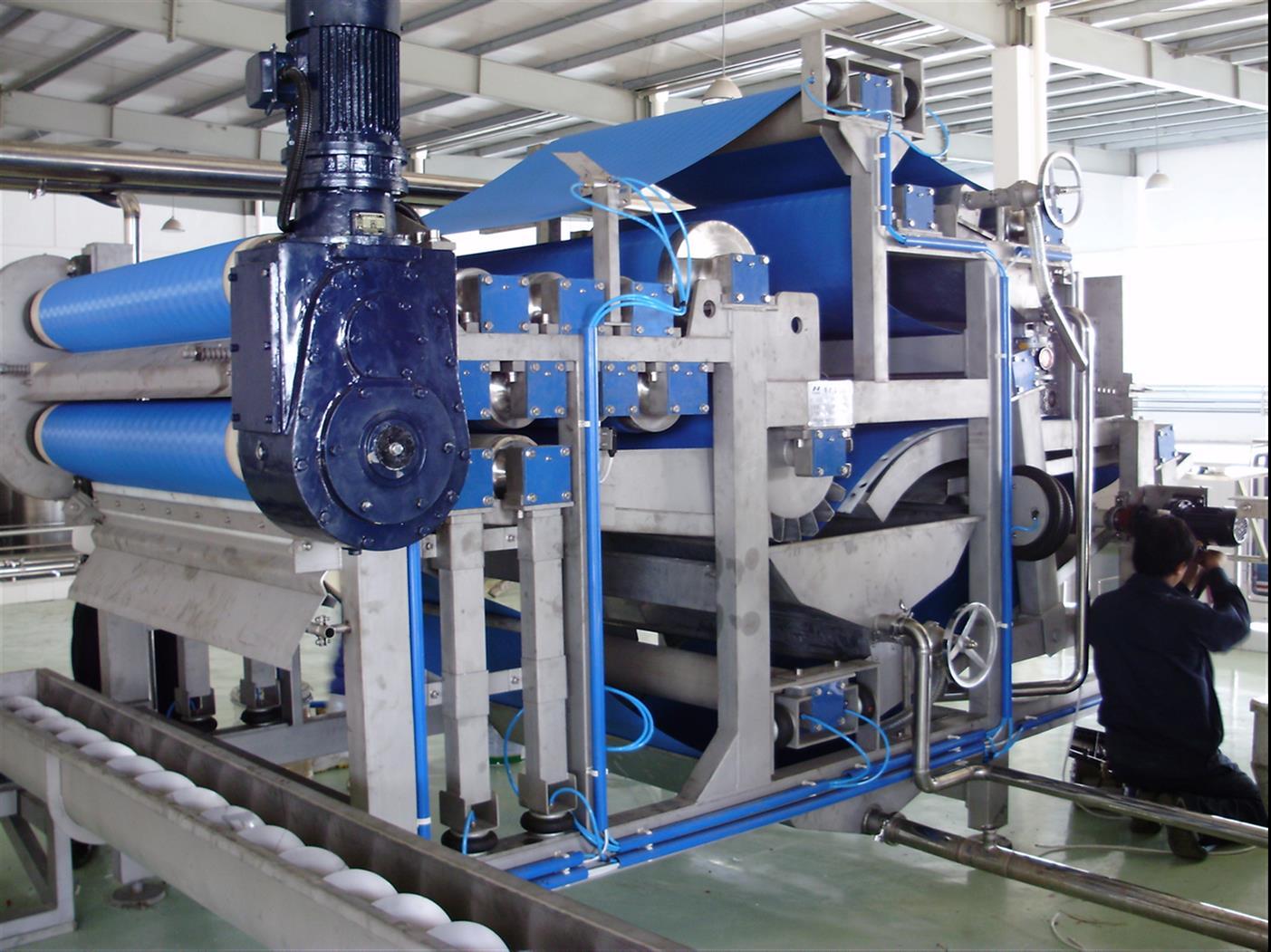 荆门带式压滤机厂家 操作简单 性能稳定