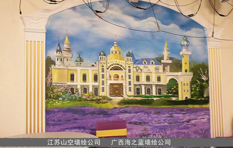 绘画 南京风景区