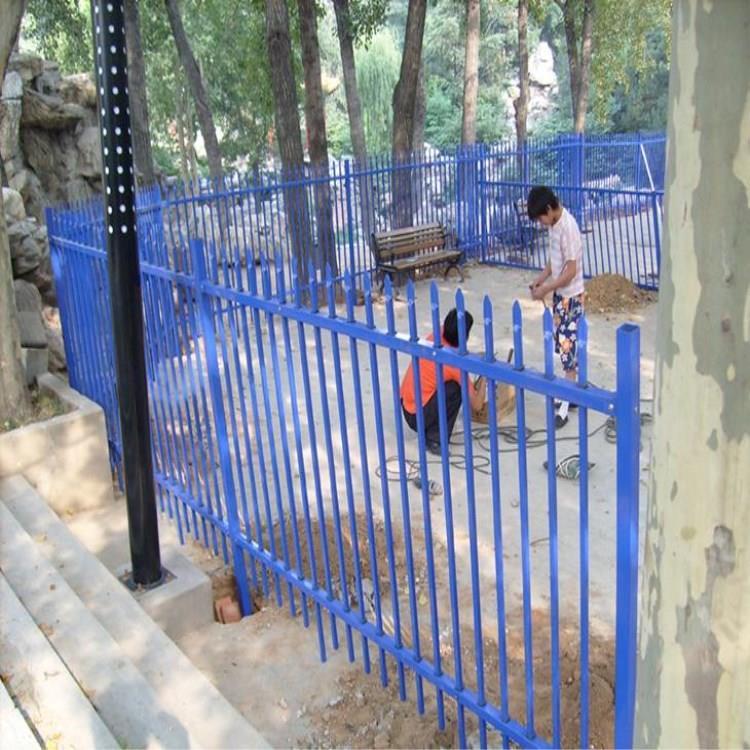 市政锌钢护栏 无需油漆和维护保养 泰翔