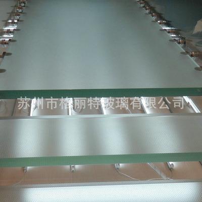 兴化防滑玻璃厂 防滑层具有较高摩擦系数