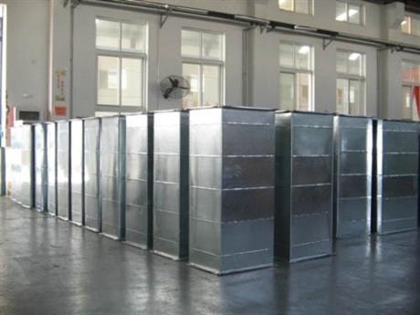 镇江批量订购碳钢焊接风管 大型号螺旋风管 宏创机电-免费咨询