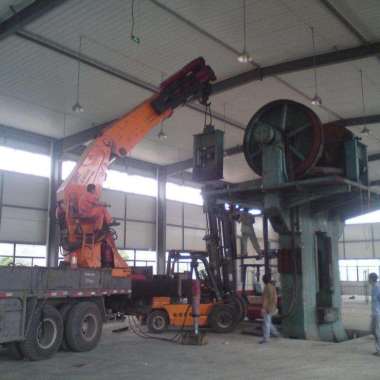 工厂搬迁-上海设备搬迁