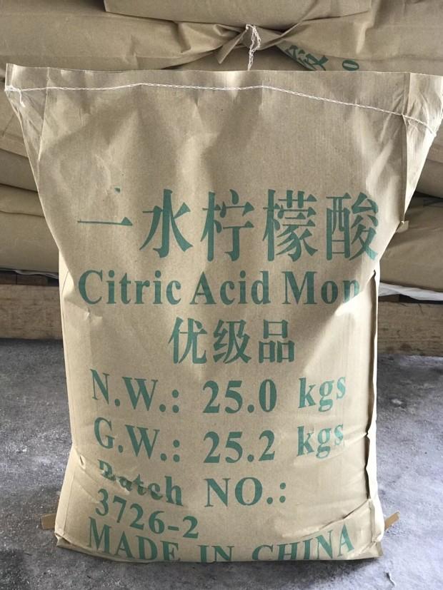 上海柠檬酸质量