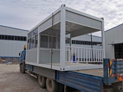 天水新款集装箱活动房 华安绿镁集装箱房 每箱3元起