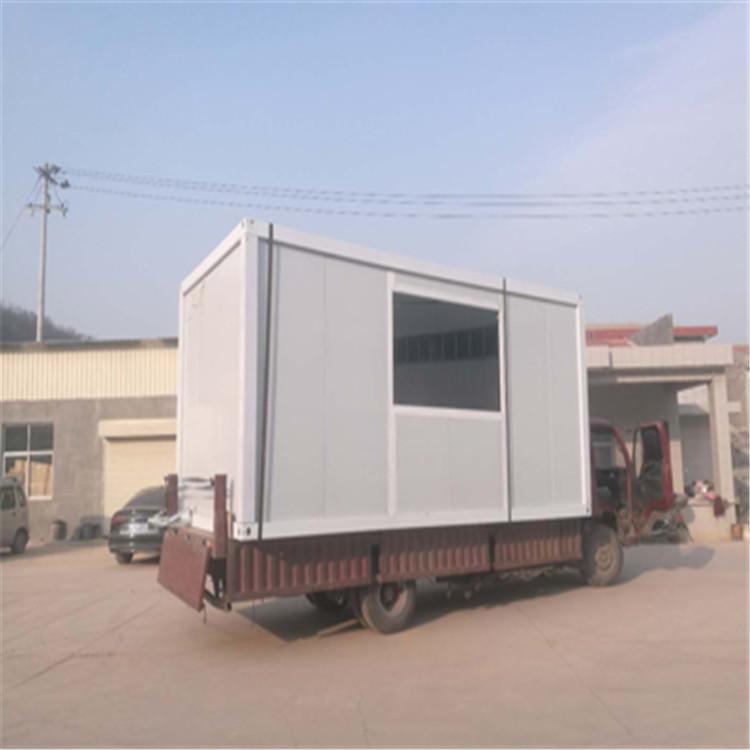 平凉现货拼装箱活动房价钱 可满足不同用户的需求