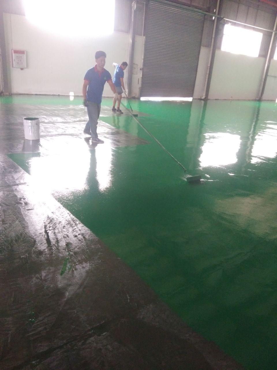 横沥地坪漆施工规格