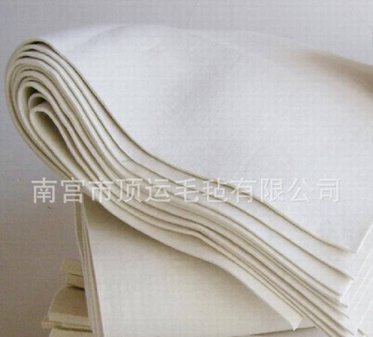 江西化纤耐高温羊毛毡 顶运毛毡高质量