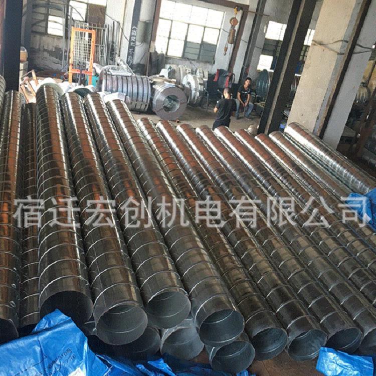 淮北口碑好的镀锌风管 中型镀锌风管 宏创机电-值得信赖的厂家