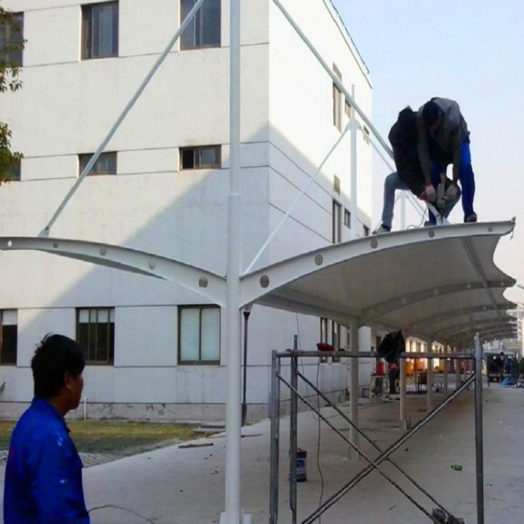 宜春膜结构停车棚生产厂商 大型膜结构停车棚 样样精品件件实惠