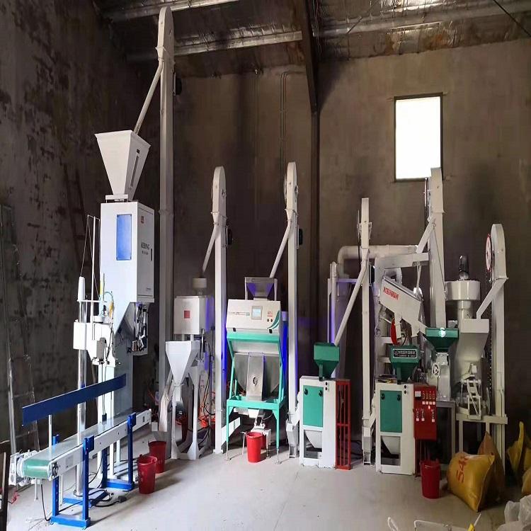 山东大米加工设备品牌 小型大米加工机 双帆机械-用心制造