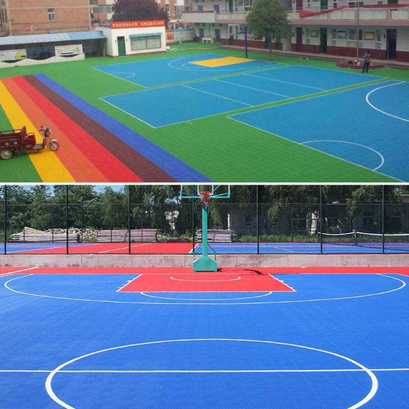贵州塑胶球场电话 硅PU篮球场批发