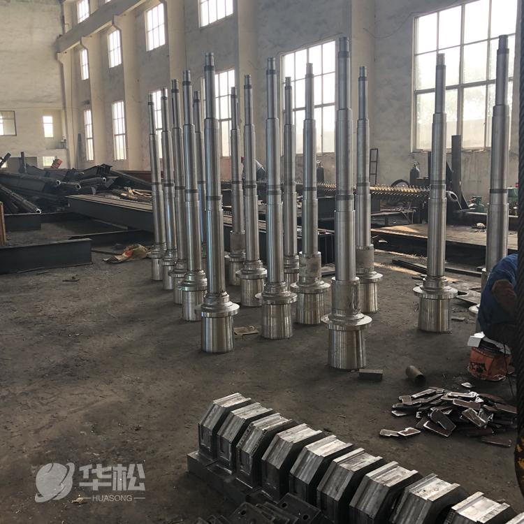 山东悬臂辊订制公司 带钢线传动辊 华松环保-值得信赖的厂家