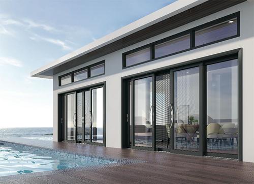 原装铝合金门窗费用 习水小型铝合金门窗批发品牌 深受客户好评