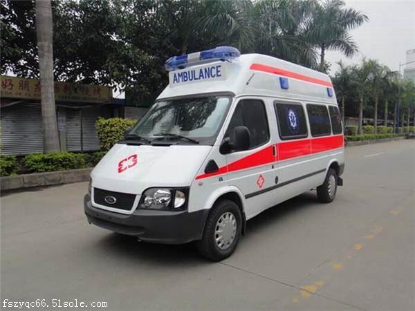 昌都120救護車出租|長途救護車轉運中心