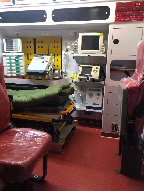 天水長途120救護車護送 120救護車轉運中心電話