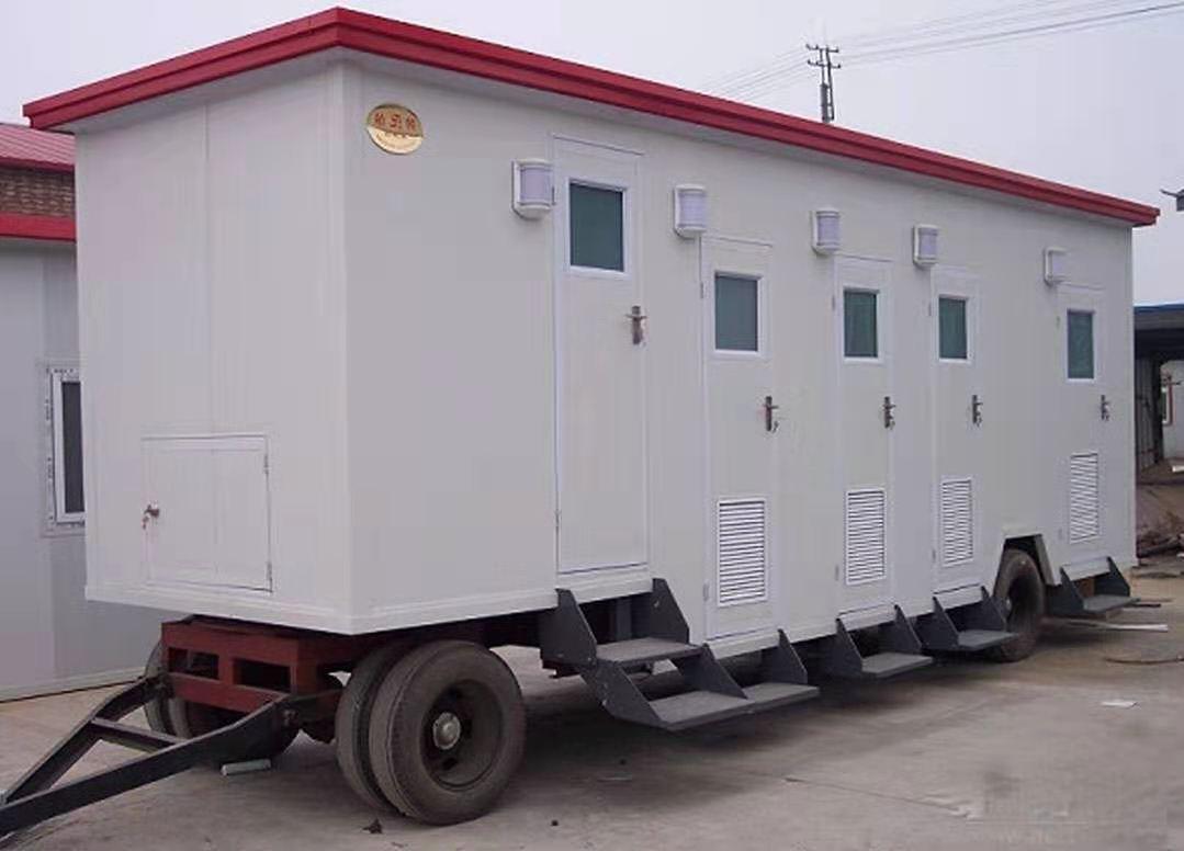 吕梁带轮移动厕所价格 一体化环保生态厕所