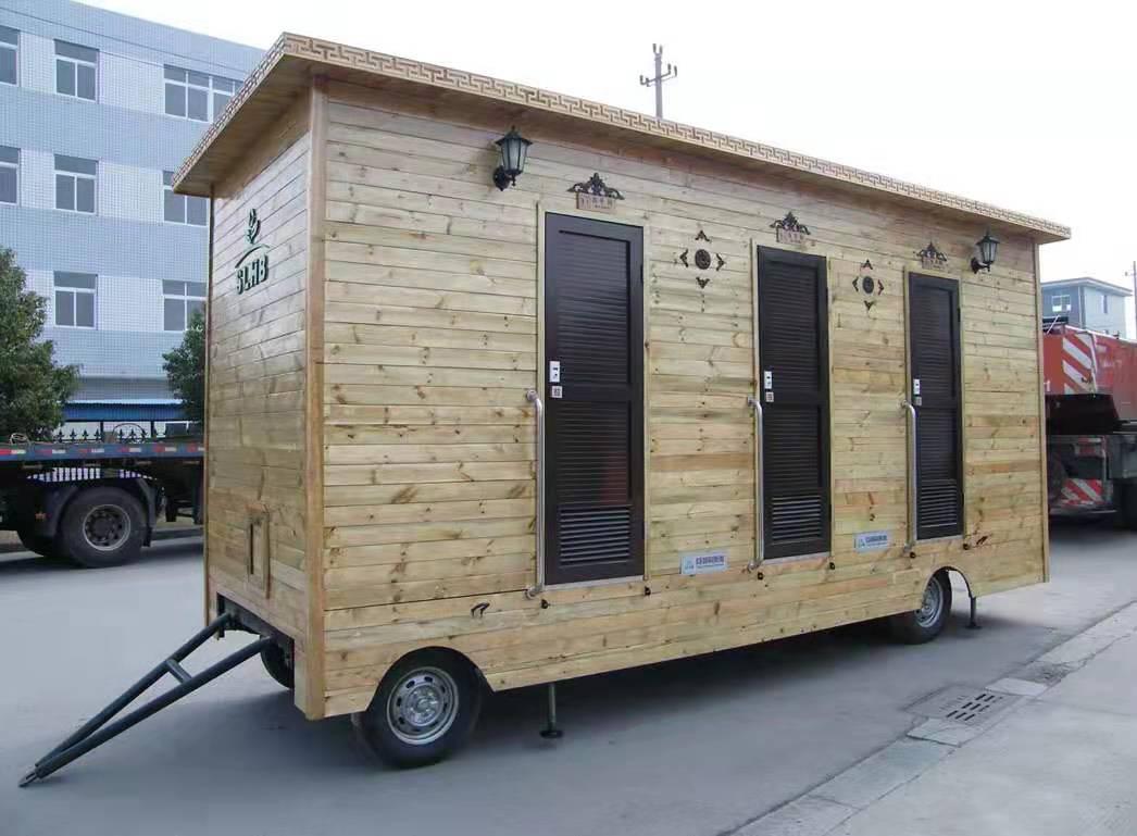 忻州拖車式移動廁所價格 加快推進環保廁所