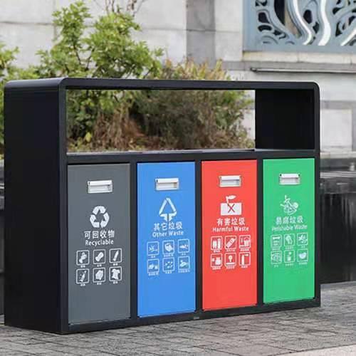 小区垃圾桶照片-太原垃圾箱价格-环卫佳品