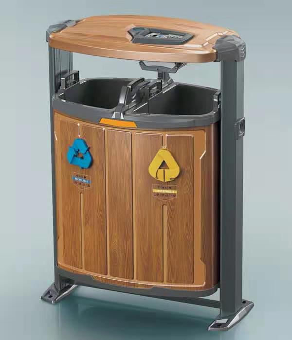 张家口果皮箱厂家-垃圾桶模具