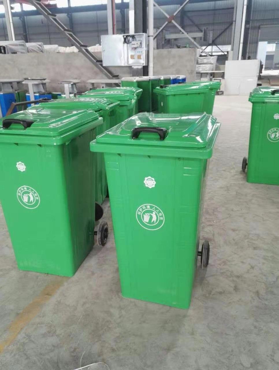 分类钢木垃圾桶-适用于室内外各种场景