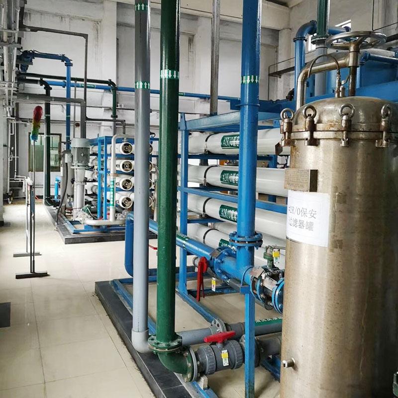 鄭州10噸飲用水設備 電控改造