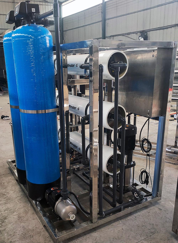 商丘学校原水处理设备