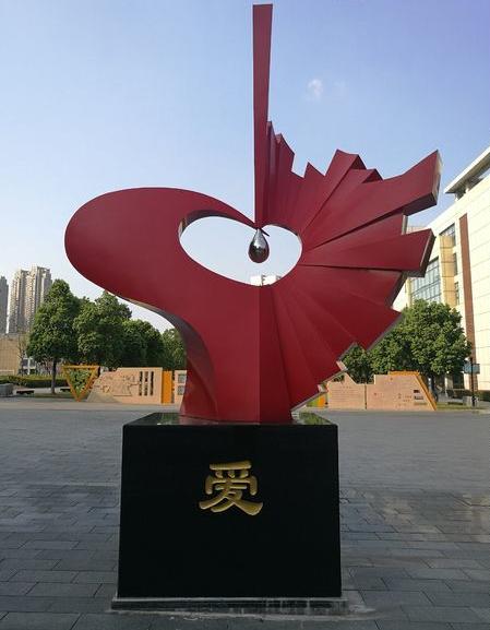 不锈钢工艺雕塑制作-不锈钢石头雕塑