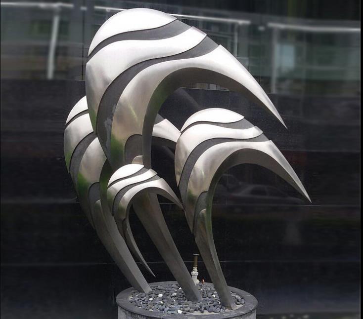 不锈钢雕塑般-城市不锈钢雕塑制作