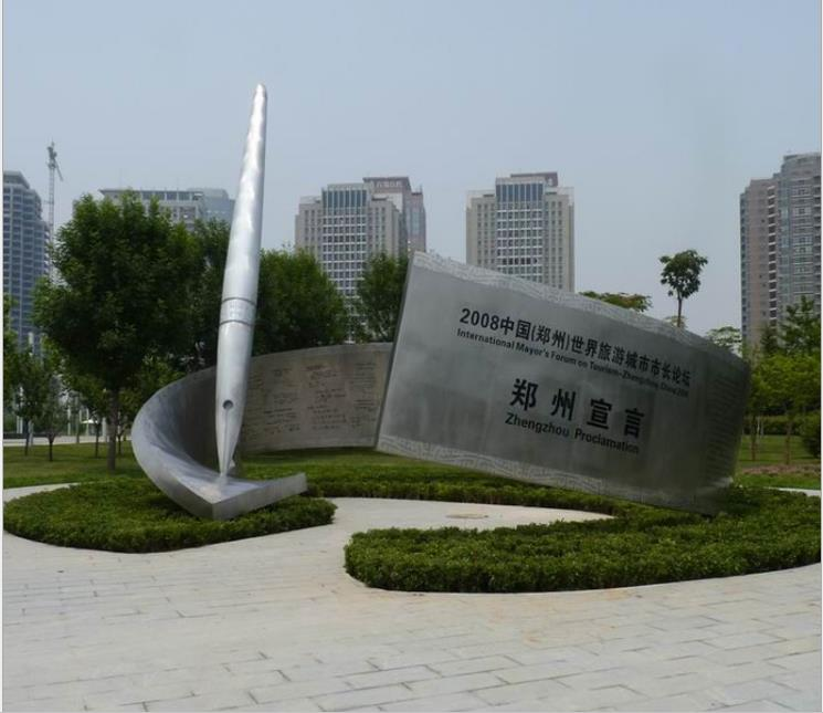 不锈钢公司雕塑-不锈钢雕塑供应厂家