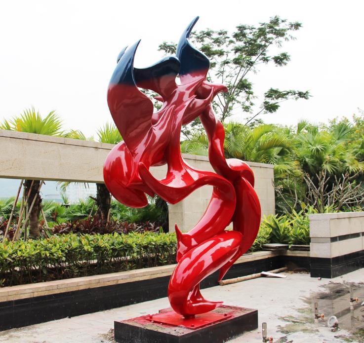 特色不锈钢雕塑-园林不锈钢雕塑公司