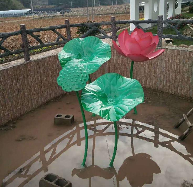 不锈钢植物雕塑-哪有做不锈钢雕塑