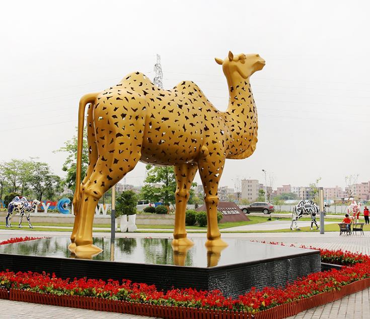 雕塑不锈钢造型-不锈钢雕塑人物雕塑