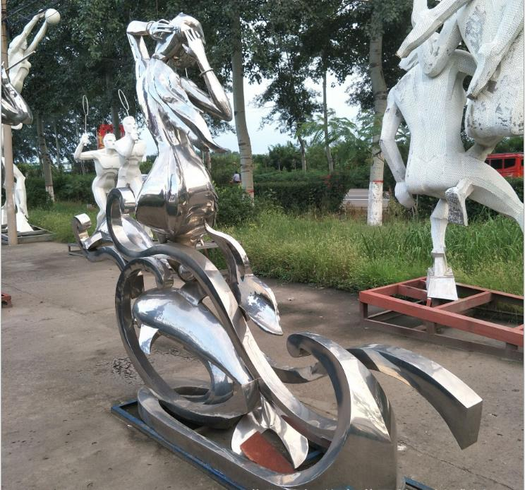 不锈钢雕塑报价表-不锈钢树雕塑厂家