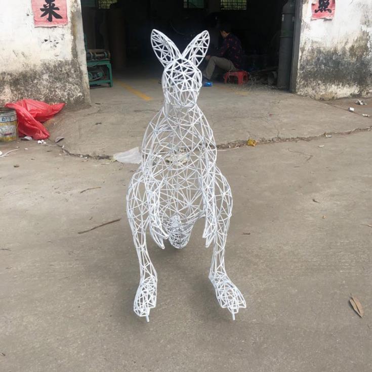 马不锈钢雕塑