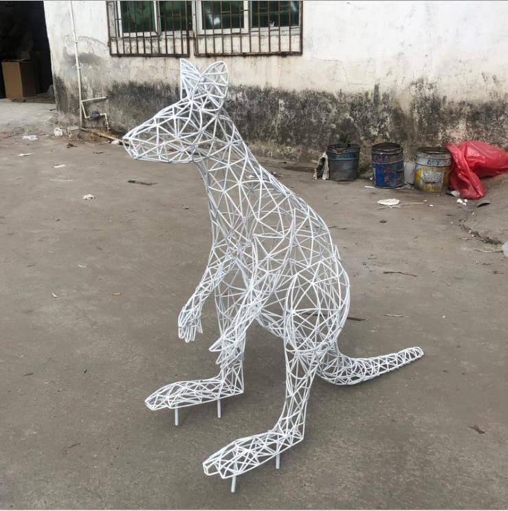 不锈钢人像雕塑