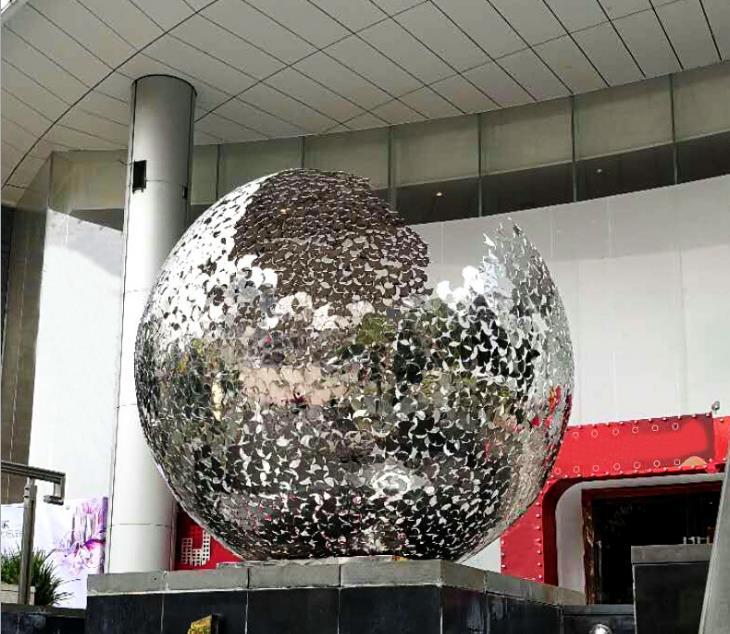 不锈钢市区雕塑