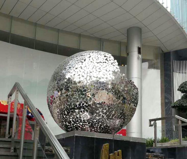 不锈钢成型雕塑