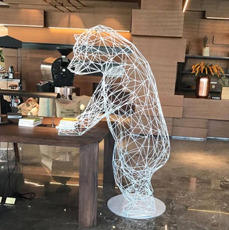 不锈钢材质雕塑
