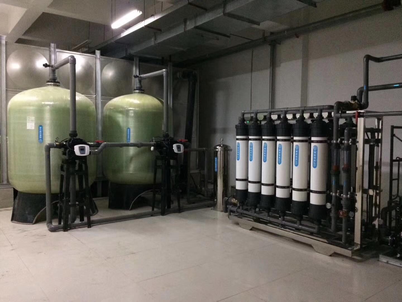 信阳200吨软化水设备