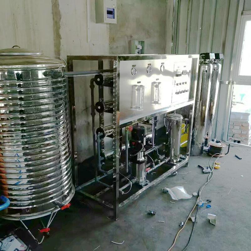 edi反渗透纯化水设备 河南8040纯净水设备厂