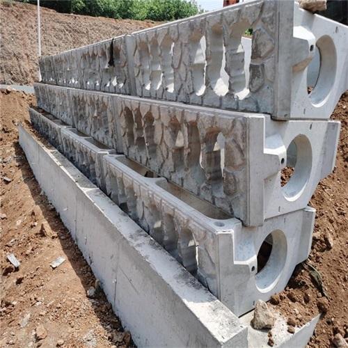 河道挡土墙模具报价表 破损率低