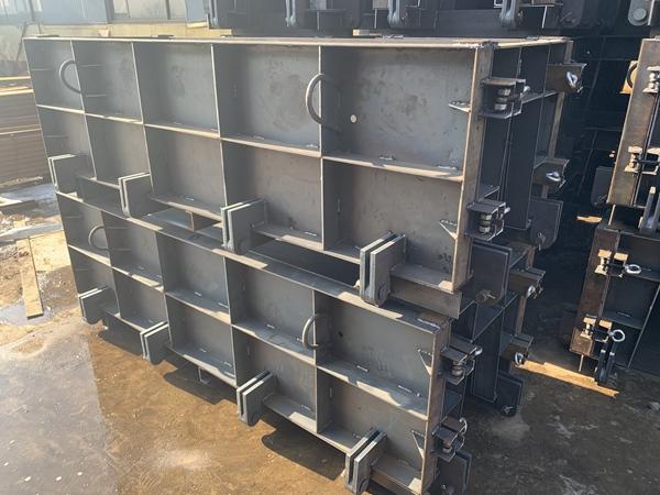 混凝土急流槽模具生产厂家 外形美观