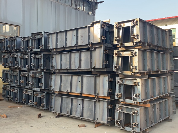 大坝排水槽钢模具订购