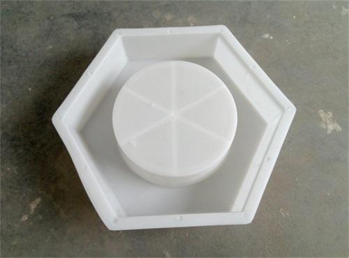 空心六棱块塑料模具加工