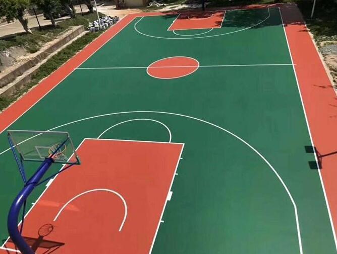 学校丙烯酸球场 黔西南硅pu丙烯酸球场施工工程